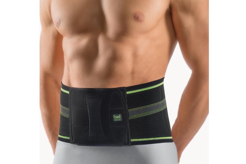 Bort-Bandage-Rücken-Vorderansicht