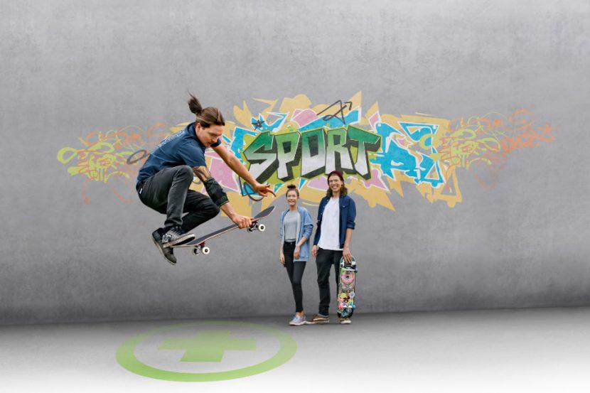 Skateboard-Bandage-Arm