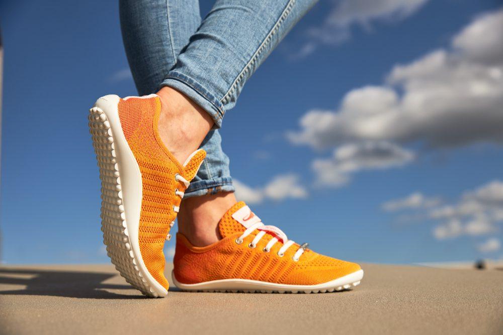 Leguano Sneakers in orange